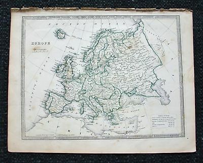 1852 G. PHIL. Impero dell'Europa European Empire Europe