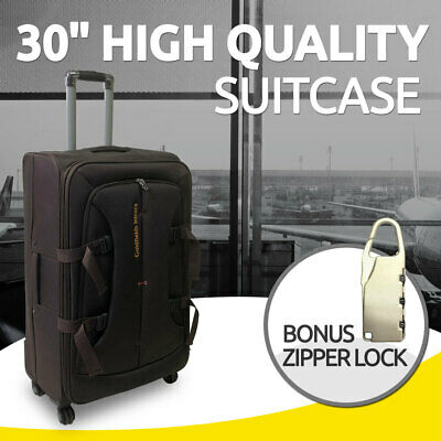 "30"" Brand New Suitcase Travel Luggage with Zipper Lock"