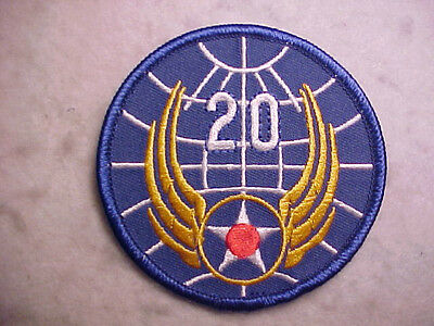 U.S. ARMY AIR FORCE 20TH AIR FORCE PATCH