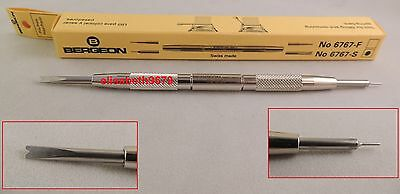 Bracelet spring bar tool BERGEON 6767-s authentic GM swiss made
