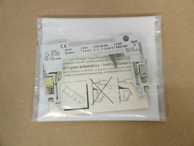 New Allen Bradley # 140-T10 Auxiliary Contact Series C