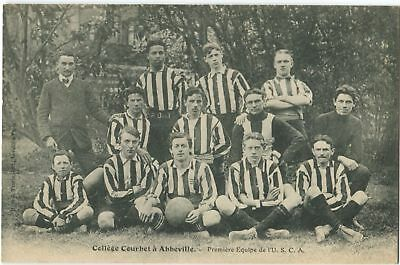 80 Abbeville Collège Courbet Equipe Football USCA