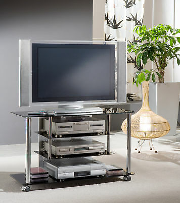 tv tisch the art fernsehtisch aus glas. Black Bedroom Furniture Sets. Home Design Ideas