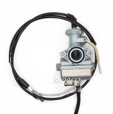 Carburetor W/ Throttle Cable Fits Honda XR75 XL75 XR80 XR80R CRF80F Carb