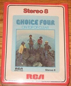Choice Four - On Top Of Clear  Sealed 8 Track Tape