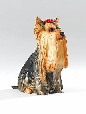 Enesco Country Artists Dogs Yorkie Sitting CA06253