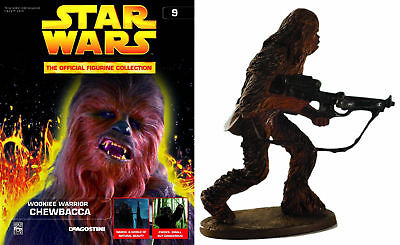 Star Wars Figurine Collection Magazine #9 Chewbacca New