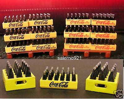 COCA COLA CASES 1:48 (O) Scale TWO LITER BOTTLES NEW!
