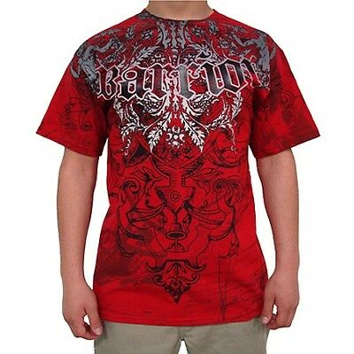Warrior Diablo Red Tshirt - Mma Ufc Strikeforce Gsp
