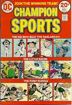BRONZE AGE DC CHAMPION SPORTS #1 Very Fine-