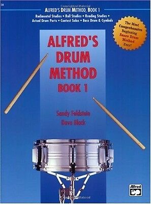 ALFRED'S DRUM METHOD BOOK 1 - ALFRED-01
