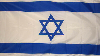 ISRAEL 3X2 FLAG Jewish Hebrew Jerusalem Judaism Zion