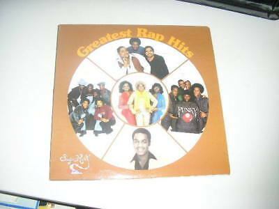 LP VA Greatest Rap Hits SUGAR HILL REC Hiphop