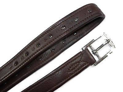 Jaguar Calf  Stirrup Leathers. Black, Havana, Chestnut