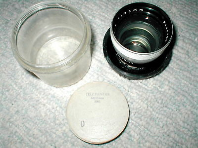 CARL ZEISS TELE PANTAR F:4 75mm for VARIOUS IKON CAMERA