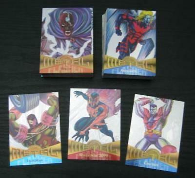 [[UPDATED]] 1995 Marvel Metal SILVER FLASHER Card Singles NM-M