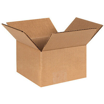 (50) 6 x 6 x 4 Small Packing Shipping Cardboard Box Carton