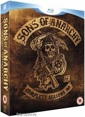 Sons Of Anarchy - Complete Seasons 1 & 2 Bluray Brand New