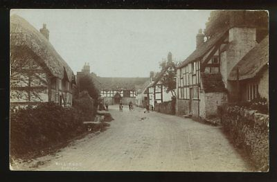 Worcestershire ELMLEY Hill Road 1912 RP PPC r22