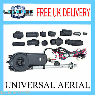 Electric Car Aerial Universal Fit Replacement Antenna Power  Mulia Head Cd