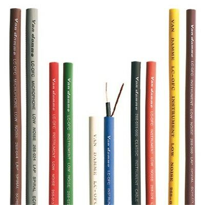 Van Damme XKE Pro Instrument Cable - Sold By The Metre - Choice of 10 Colours