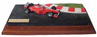 1/43 Scale Diorama featuring the Ferrari F399 1999 1/43 scale F1. car