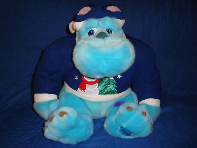 """Monsters Inc SULLEY Plush Disney Store Exclusive 11"""""""