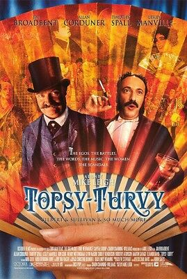 TOPSY-TURVY MOVIE POSTER 1 Sided ORIGINAL ROLLED 27X40