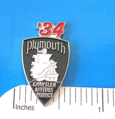 1933 - 1951 PLYMOUTH - hat pin , lapel pin , tie tac , hatpin GIFT BOXED