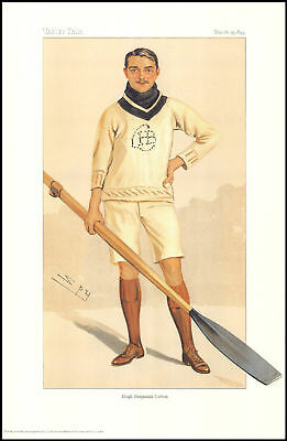 Rowers  -  Vanity Fair Reprint - Rower - Hugh Benjamin Cotton