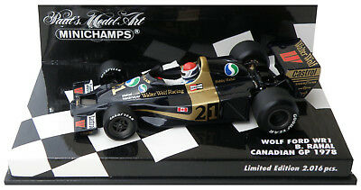 Minichamps Wolf WR1 Canadian GP 1978 - Bobby Rahal 1/43 Scale