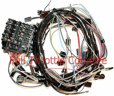 1971 corvette dash wiring harness for vettes with air conditioning