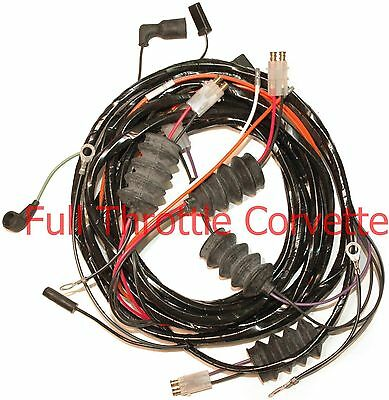 1963 Corvette Rear Lamp Body Wiring Harness w/o BackUps