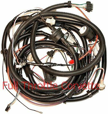 1980 Early Corvette Rear Body Wiring Harness With Rear Window Defrost Option