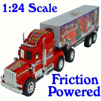 Kids Children X'mas Container Truck Car Christmas Gift Toys