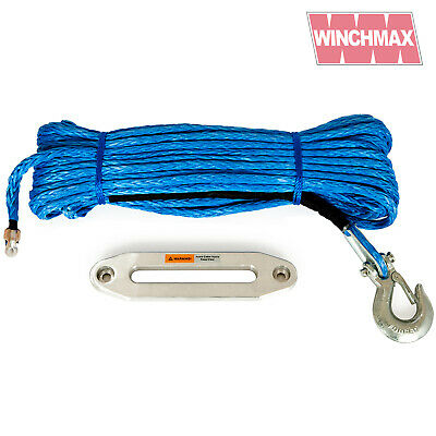 150ft / 45m Synthetic Winch Rope and Hawse