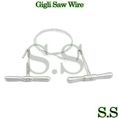 """Gigli Saw Wire 16""""o.r Grade Surgical Forceps,veterinary"""