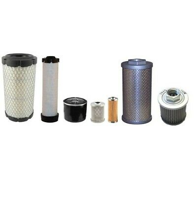Takeuchi TB016 Filter service Kit includes all filters for full service