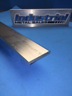 "6061 T651 Aluminum Flat Bar 1/4"" x 2"" x 48"" -Long-->.250"" x 2"" MILL STOCK"