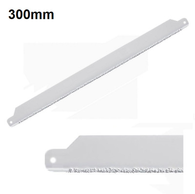 Tungsten Carbide Tile Glass Hacksaw Blade 300mm Ceramic Hack Saw