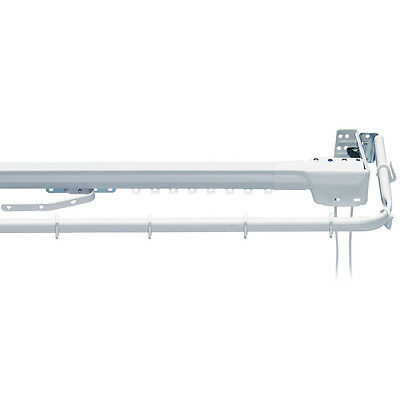 Integra Super Twosome - Corded Extendable Track & Valance