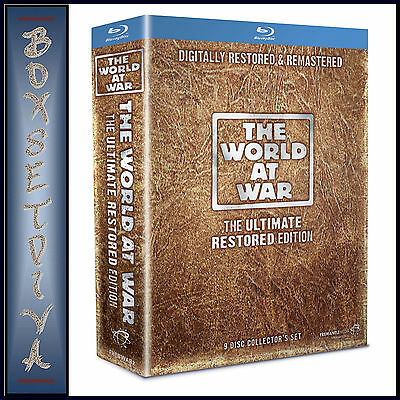 The World At War - Ultimate Restored Edition *brand New Blu-Ray Region Free***