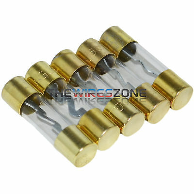 AGU Fuse 5 Pack Reliable 60 Amp Fuses Gold Plated 60A