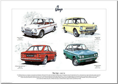 THE IMP - 1963-76  Art Print - Hillman Sunbeam Stiletto