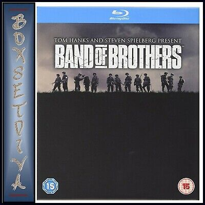 Band Of Brothers - Complete Hbo Tv Series *Brand New Blu-Ray - Gift Tin**