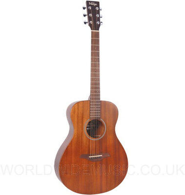 Vintage V300MH Acoustic Guitar in Mahogany finish. -  Award winning model.
