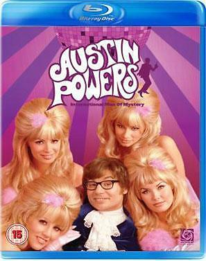 AUSTIN POWERS - Man Of Mystery*BRAND NEW BLU-RAY REG B