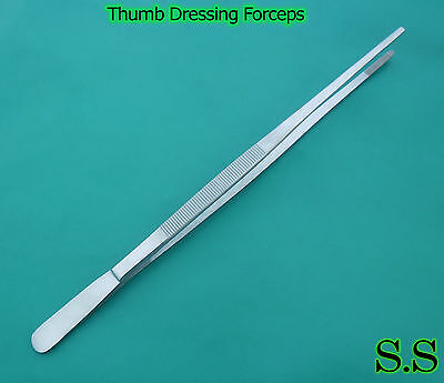 "(Huge Tweezers) Thumb Dressing Forceps 24"" LONG"