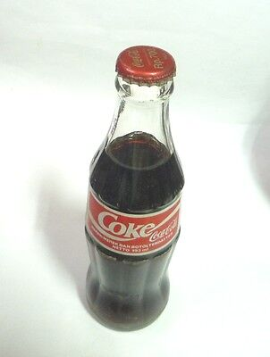 Old Glass COCA COLA Bottle INDONESIA 1998 COKE Halal 193ml Asia Collect Rp 700