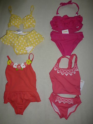 NWT Gymboree Coral Reef 5 5T Reversible Top Tankini Swimsuit